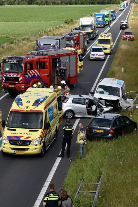 PVV wil middengeleider na dodelijk ongeval N36 bij Stegeren: 'Dan is frontaal botsen onmogelijk'