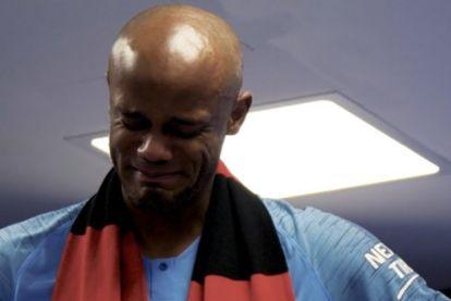In kleedkamers van Wembley zwaaide Kompany z'n City-collega's uit met bewogen afscheidsspeech