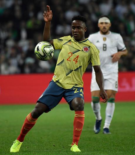 Sinisterra debuteert bij Colombia met nederlaag