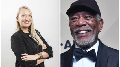 """Onze vrouw in Hollywood werd aangesproken in het Morgan Freeman-onderzoek van CNN: """"Maar ik vond hem net heel onschuldig"""""""