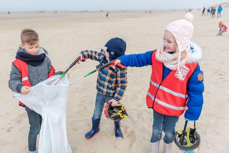 Er wordt al tien jaar lang een opruimactie georganiseerd op het strand