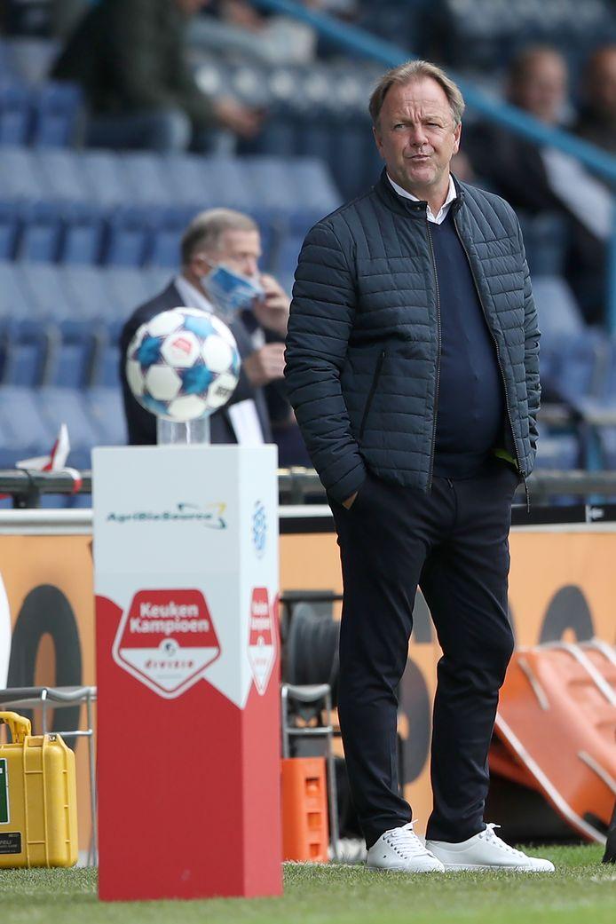 De Graafschap-trainer Mike Snoei.