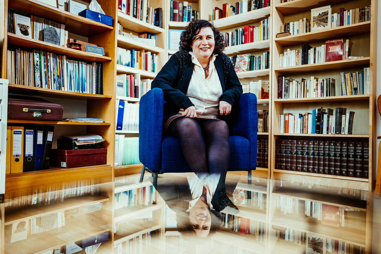 Psychoanalytica Ariane Bazan. Beeld © Stefaan Temmerman