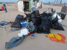"""""""Une zone de guerre"""", des volontaires trouvent plus de 2.000 litres d'ordures sur la plage samedi soir"""
