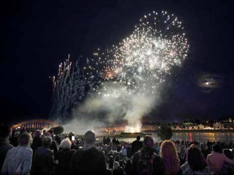 'Lasershow in plaats van vuurwerk'