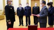 Kim Jong-un krijgt herdenkingsmedaille van Poetin