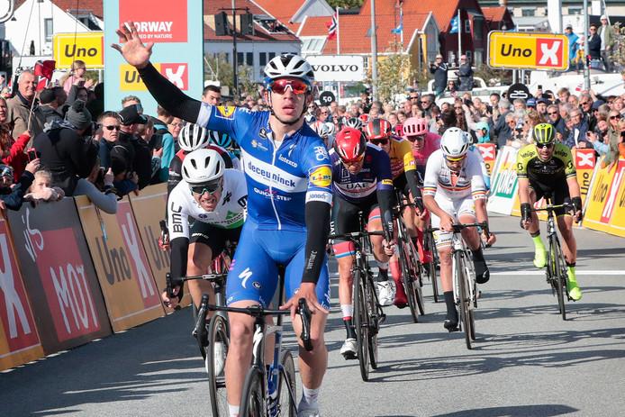 Pas forcément à la fête sur le Giro, l'équipe Deceuninck-Quick Step se console sur le Tour de Norvège.