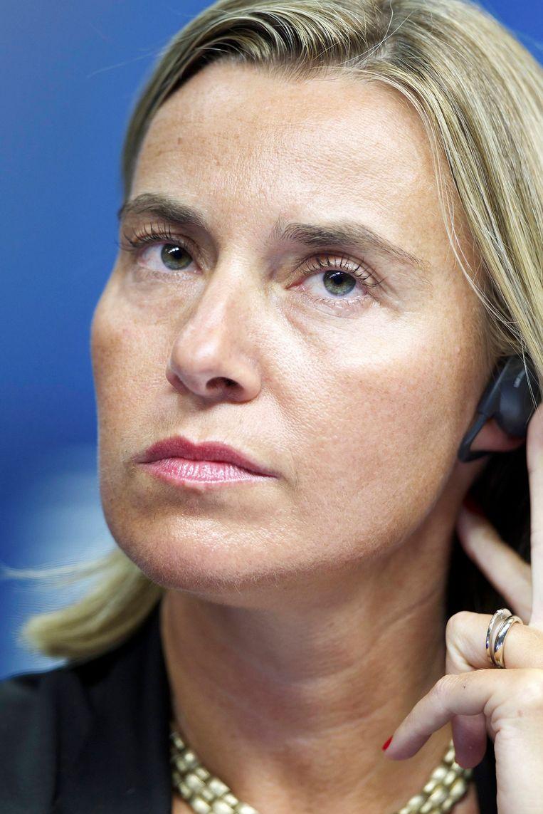 Federica Mogherini. Beeld BELGA