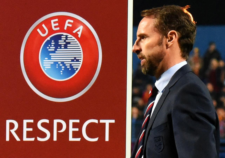 De Engelse bondscoach Gareth Southgate