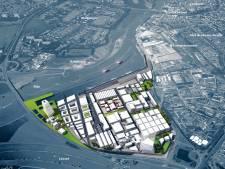 Koningspleij Noord in Arnhem in beeld als 'watergebonden industrieterrein'