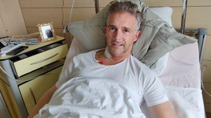"""Christoff herstelt van ingrijpende hartoperatie: """"Ik mag nu niet langer met mijn gezondheid spelen"""""""