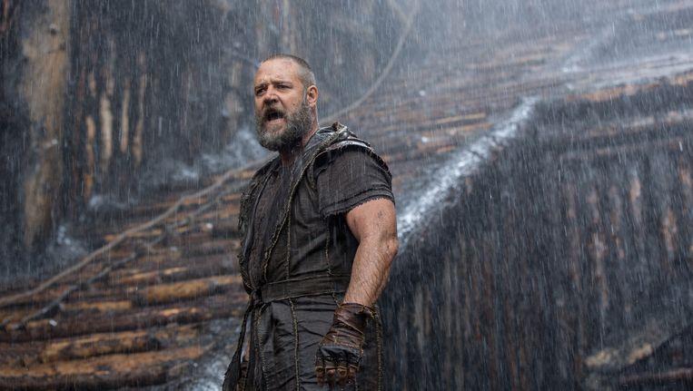 Russell Crowe speelt Noah in de film.