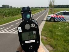 Met 152 per uur over de provinciale weg bij Geesteren