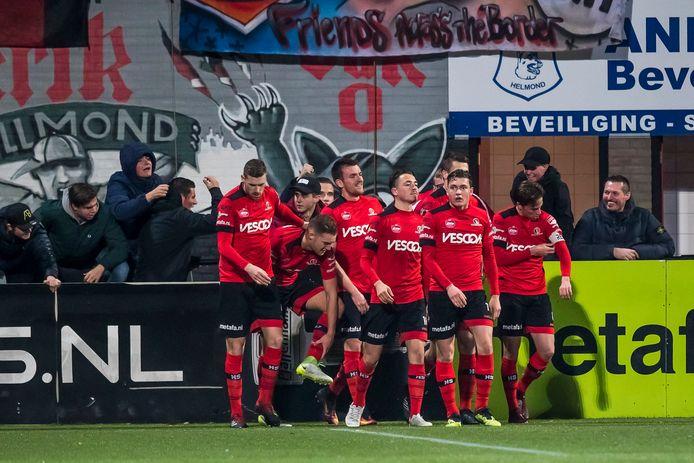 Na 22 duels zonder overwinning kunnen ze eindelijk juichen bij Helmond Sport.