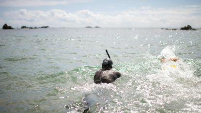 Bon voyage! Fransman begint aan recordpoging Stille Oceaan overzwemmen