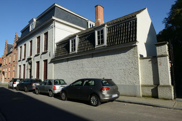 Het pand in de Beenhouwersstraat wordt verkocht.
