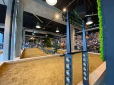 Tien banen, 1100 vierkante meter, dit is de nieuwe jeu-de-boulesbar van Tilburg