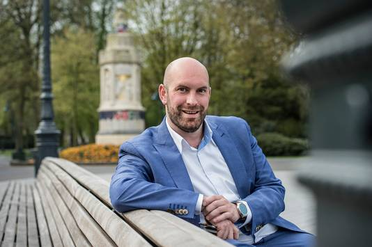 Wethouder Boaz Adank van Economie en Werk.