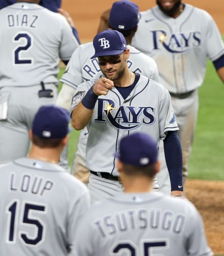 Tampa Bay Rays komen weer gelijk met LA Dodgers in World Series