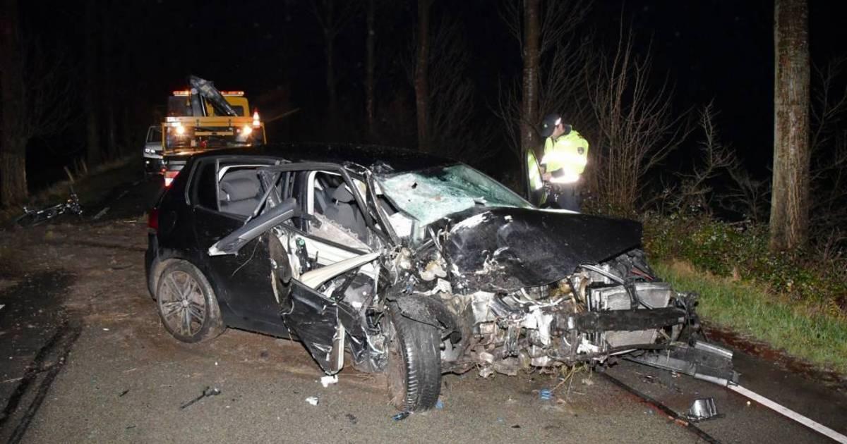 Man raakt gewond bij eenzijdig ongeval in Ovezande.