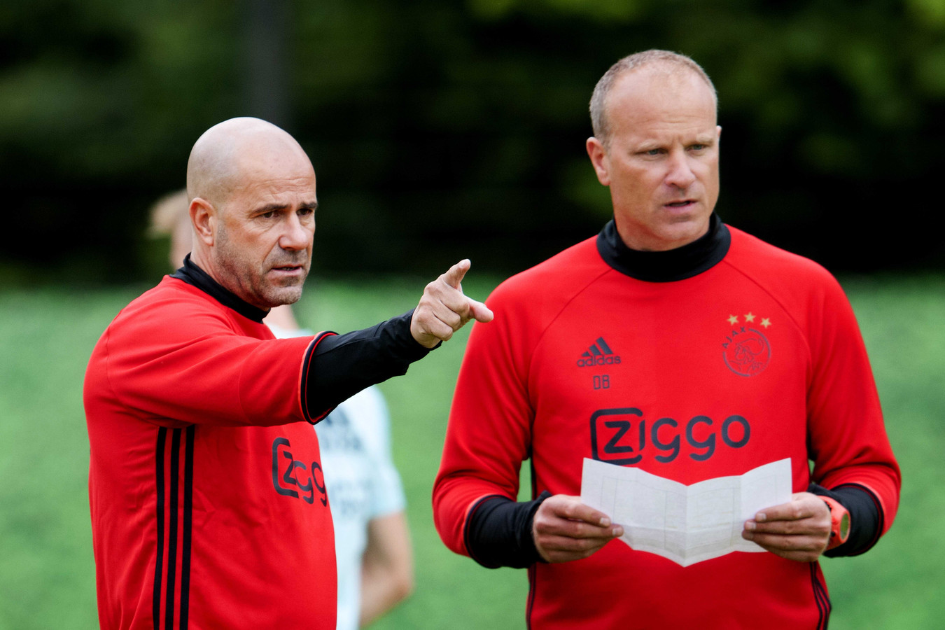 peter bosz with 67919011 on Andre Onana Ajax Latest Sweeper Keeper Extraodinaire further 67919011 moreover 2160288 Neres Dit Is Nog Maar Het Begin additionally 361424 Djt EF BC 9Apep Guardiolas Barcelona Tiki Taka433 Fm2017 as well 100754485.