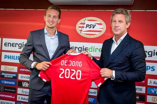 Luuk de Jong verlengde vorig seizoen zijn contract tot medio 2020.