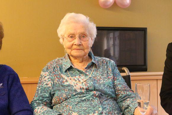 Dit jaar klonk Yvonne op haar 107de verjaardag.