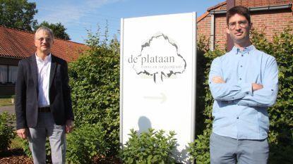 Bas (39) volgt in volle coronacrisis Danny op als directeur bij woonzorgcentrum De Plataan in Izegem