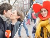 'Valentijn' deelt rozen uit: 'Ze is mijn eerste liefde en hopelijk ook mijn laatste'
