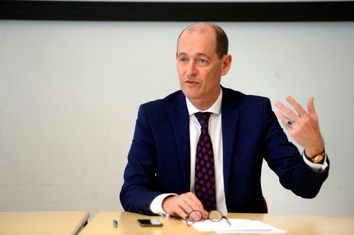 Sander Schelberg is plaatsvervangend voorzitter van de Veiligheidsregio Twente.