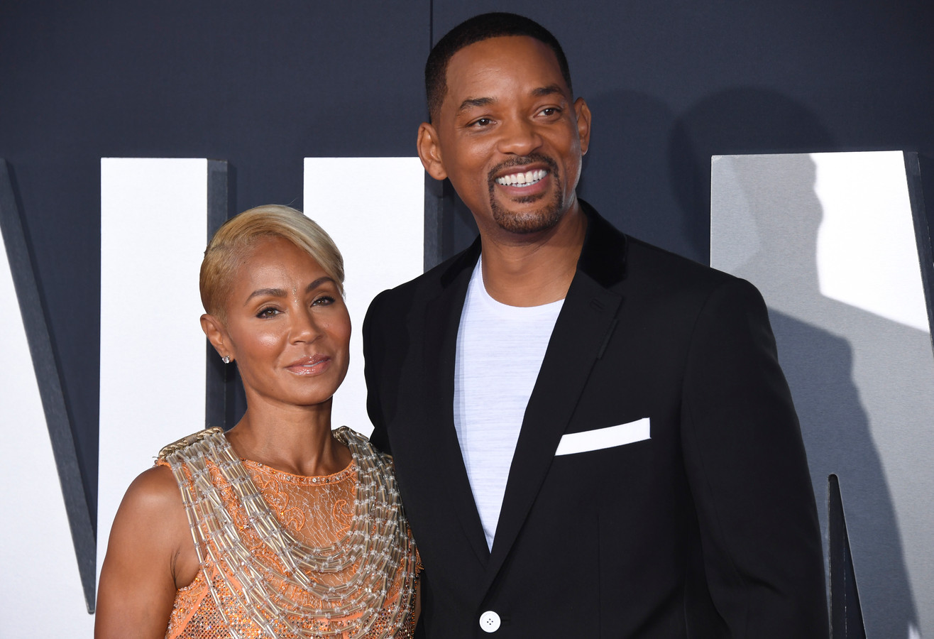 Will Smith en Jada Pinkett Smith.