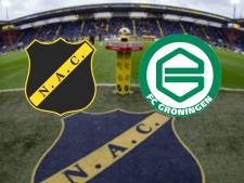 LIVE | Bruns vergeet Groningen op voorsprong te zetten tegen NAC
