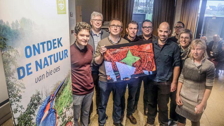 Burgerbeweging VTEX uit Kortrijk heeft de Klimop.Award gewonnen.