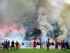 Hooligans Levski Sofia verwonden trainers CSKA in derby