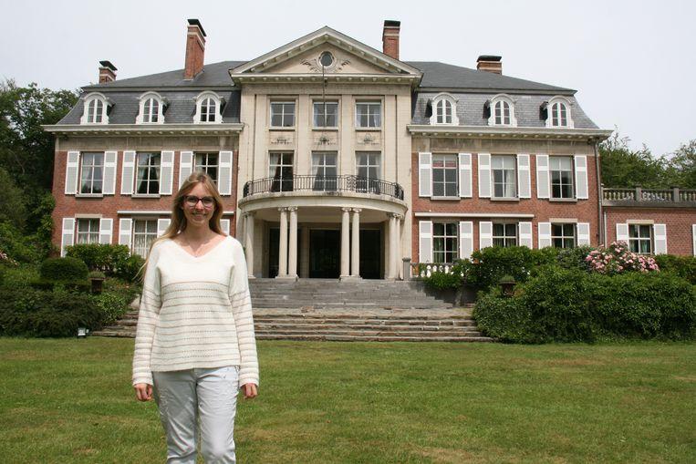 Valerie Christiaen geeft het bekende kasteel Wolvenbos een nieuw leven.