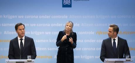 Reacties op persconferentie: 'Vreemd dat Rutte en De Jonge ons niet aankijken als ze een belangrijke boodschap hebben'