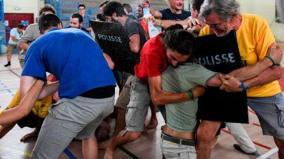Tijdens zomerkamp in Elzas leren klimaatactivisten hoe ze burgerlijk ongehoorzaam kunnen zijn