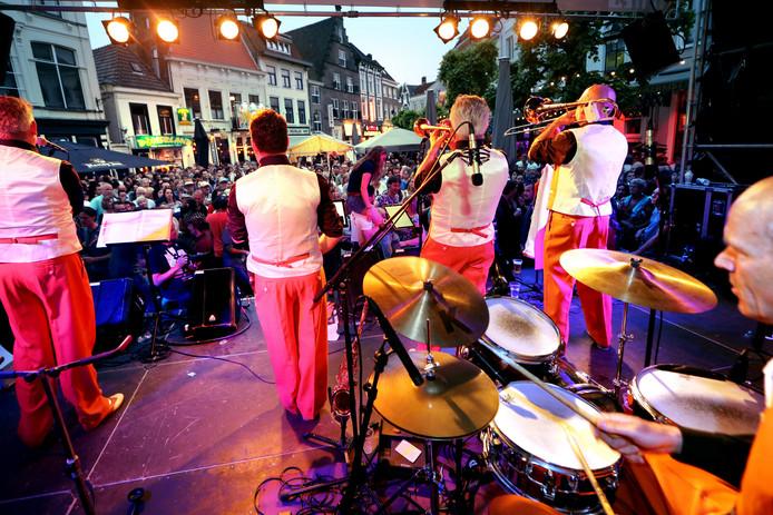 De Jazz Connection in 2018 tijdens het Breda Jazz Festival op de Havermarkt