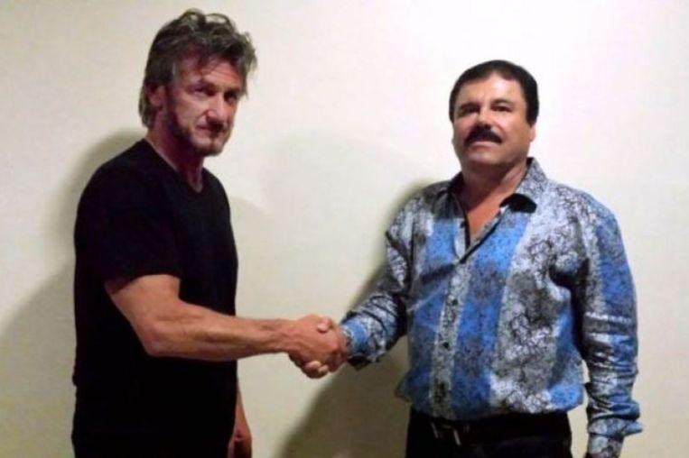 Het - inmiddels uitverkochte - shirt van El Chapo. Beeld Rolling Stone