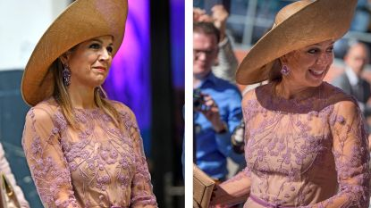 Foutje? Koningin Máxima in exact dezelfde outfit terug in Enschede