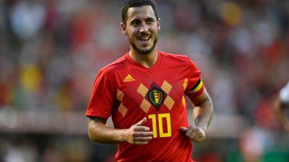 """Eden Hazard: """"Dit is het moment om te schitteren voor de 'gouden generatie'. We gaan naar Rusland om te winnen"""""""