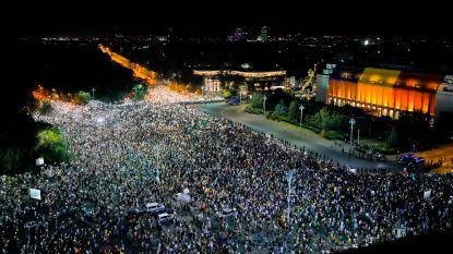 Tienduizenden Roemenen protesteren opnieuw tegen regering