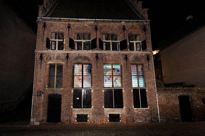 Het Besiendershuis aan de Waalkade.