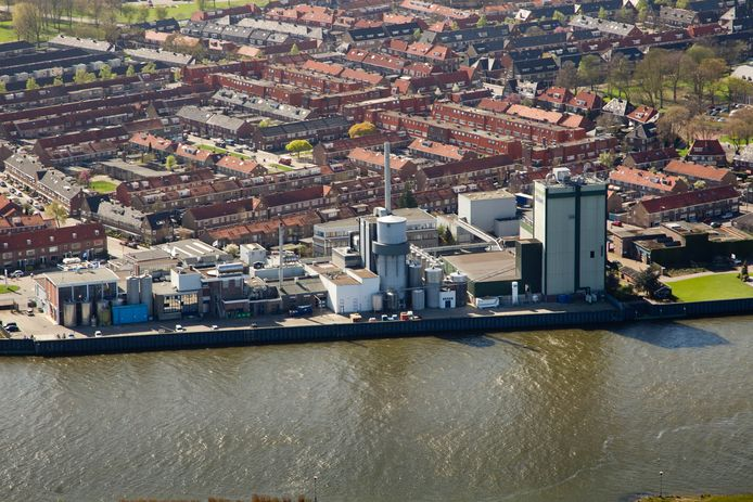 Luchtfoto van Lyemph in Kampen.