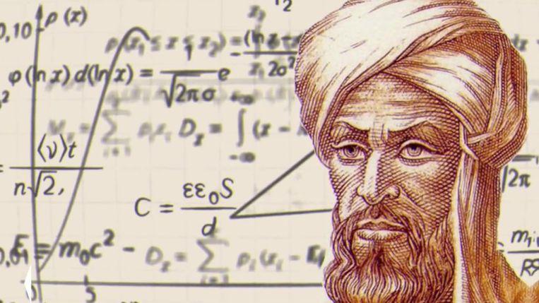 Mohammed ibn Musa, bijgenaamd al-Khwarizmi (780-850). Beeld