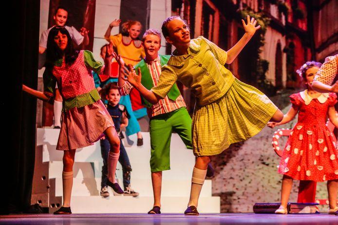Kinderen uit de hele regio spelen bij Kleintje BMT van het Brabants Muziek-Theater.