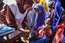 Door ernstige droogte waren eerder al veel mensen in Somalië ondervoed.