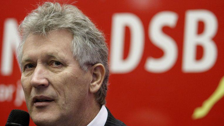 Dirk Scheringa van de gevallen bank DSB. Beeld EPA