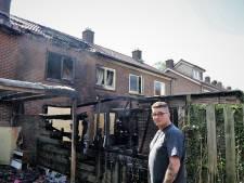 Brand in Doorwerth: 'Even dacht ik dat het ochtend was'