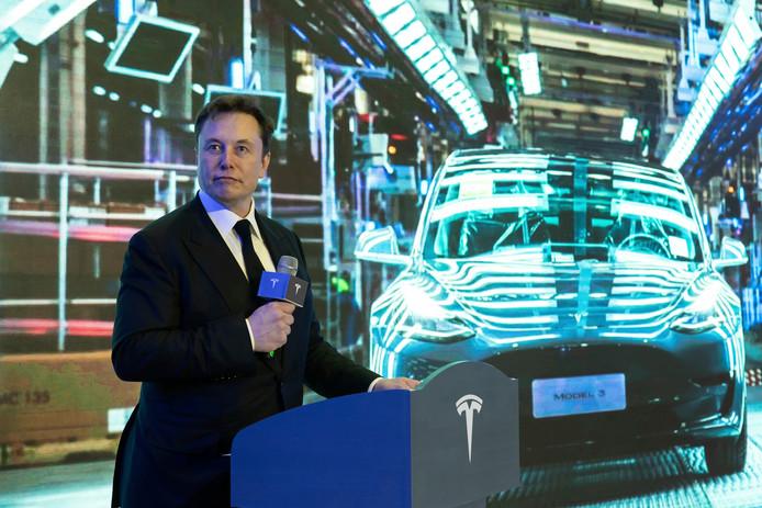 Tesla-baas Elon Musk.